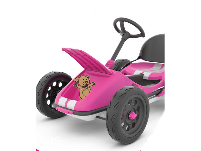 Chillafish Monzi RS Pedal Go-Kart Kids, pink